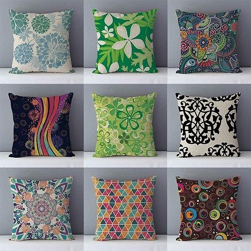 Europe Couch Cushion Pastoral Home Decorative Pillow Cotton Linen