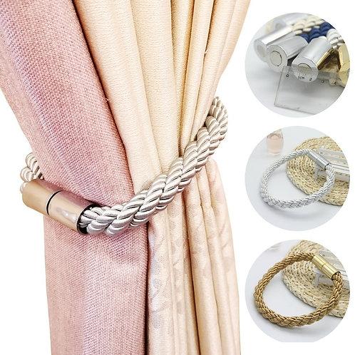 1PCS Curtain Strap Decorative Accessories Window Strap Buckle Holder Magnetic