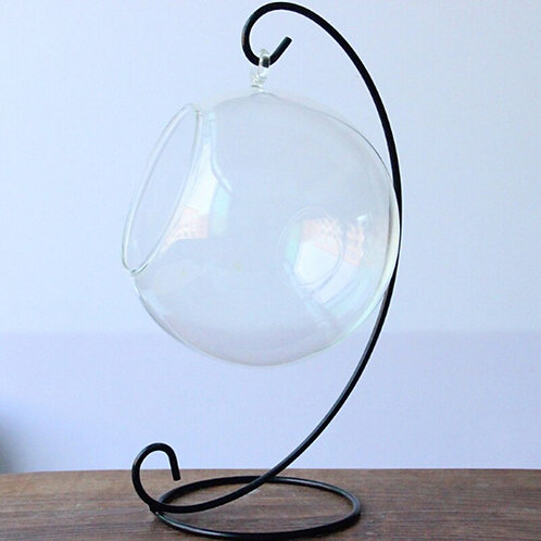 Iron Art Home Decoration Table Ball Lantern Candle