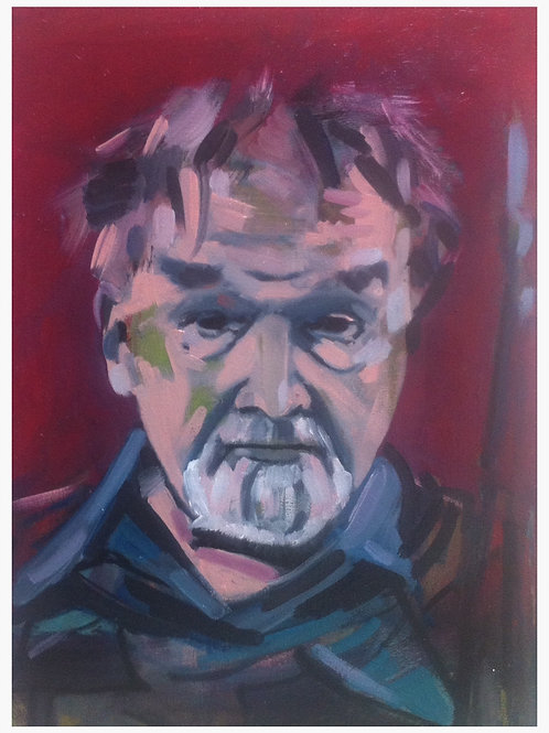 Alastair Grey Oil Painting by John Gigli 300 x 400mm