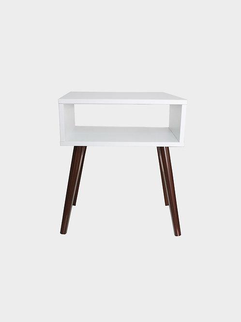 Wood Veneer Side Coffee Table
