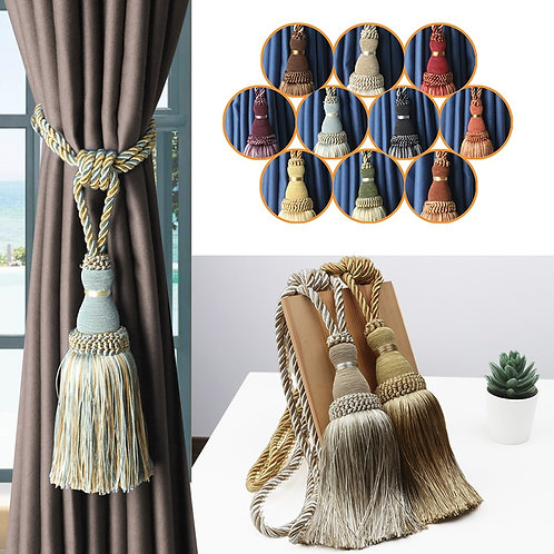 1Pc Tassel Curtain Tieback Home Decoration Curtain Holder