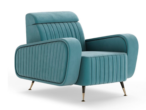 HARRISON ARMCHAIR - Superbly detailed and hand crafted with the finest materials