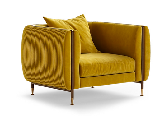 BARLOW ARMCHAIR - Superbly detailed and hand crafted with the finest materials