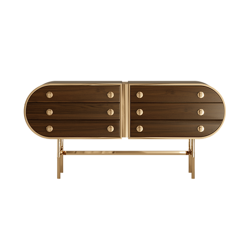 MORYSON SIDEBOARD HOLLY SIDEBOARD - Superbly detailed and hand crafted