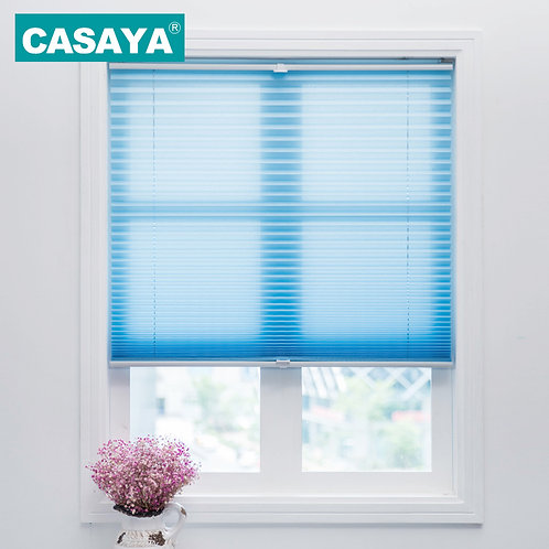 Cordless Pleated Blinds Light Filtering Shade Child Safety Curtains Roller Blind