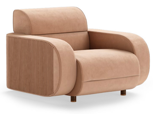 ROLLINS ARMCHAIR - Superbly detailed and hand crafted with the finest materials