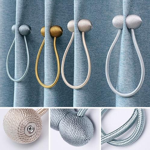 Magnetic Ball Curtain Clip Flexible Tiebacks