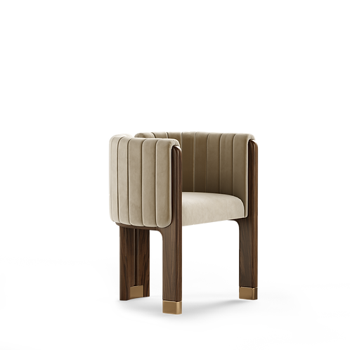 CRAWFORD DINING CHAIR - Superbly detailed and hand crafted
