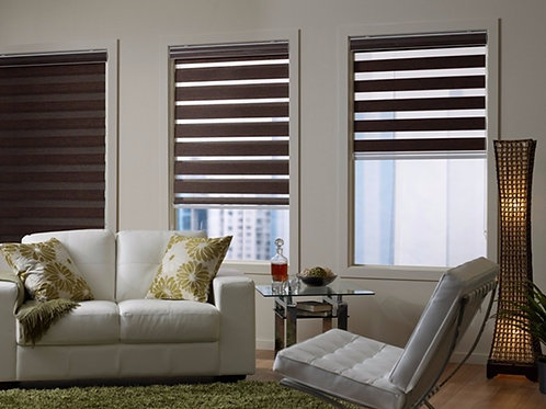 Free Shipping Blackout Roller Zebra Blinds Made to Measure