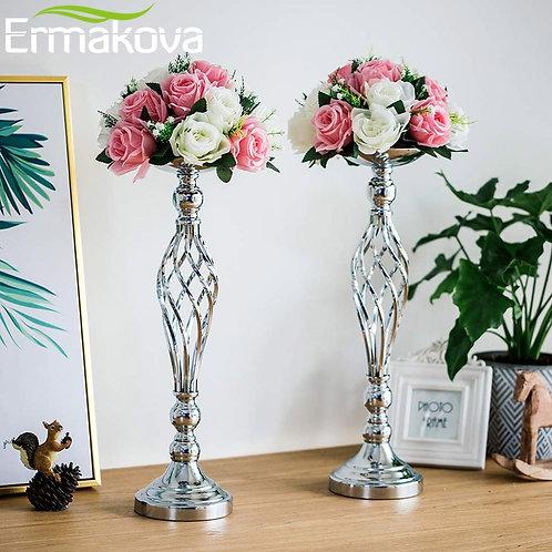 ERMAKOVA Flower Arrangement Stand Vase Pillar Candle Holders