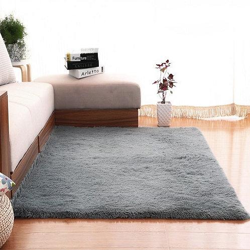 Modern Super Soft Rectangle Carpet  Fluffy Rugs Anti-Skid Shaggy