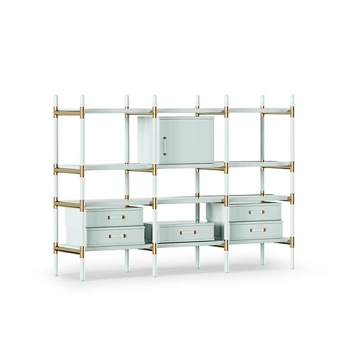 Bookcase Maze - Superbly detailed and hand crafted with the finest materials