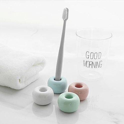 Lemonbest Multi-Function Ceramic Toothbrush Holder