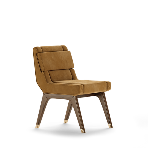 CARON DINING CHAIR - Superbly detailed and hand crafted with the finest material