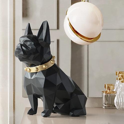 Dog Statue Home Decor Crafts  Animal Resin Sculpture Modern Art