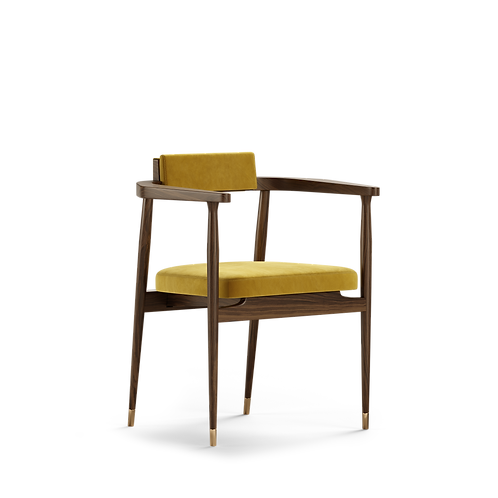 GARDNER DINING CHAIR - Superbly detailed and hand crafted
