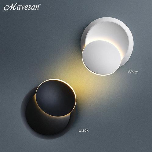 LED Wall Lamp 360 Degree Rotation Adjustable Bedside Light