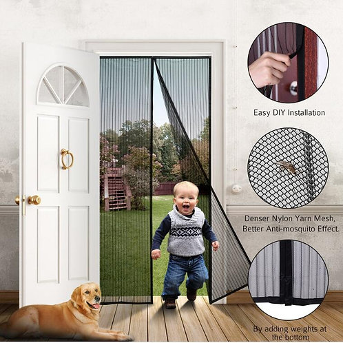 Mosquito Net Curtain Magnets Door Mesh Insect Sandfly Netting