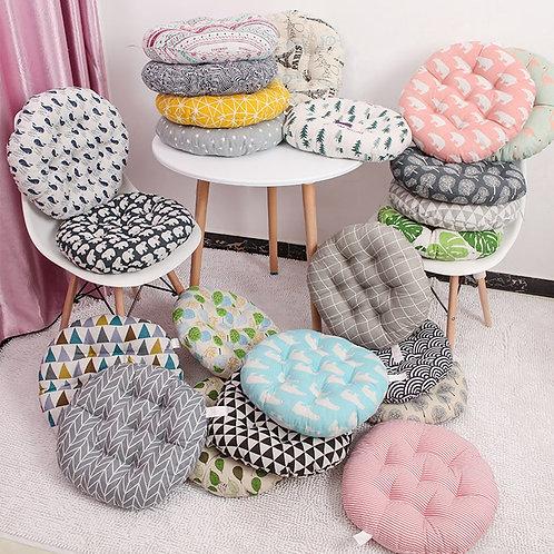 Round Cushion 38x38/43x43/48x48cm Chair Cushion