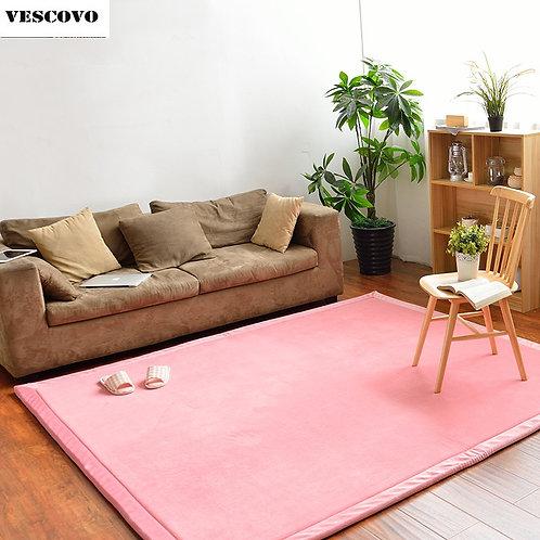Japanese Thick Coral Velvet Cover Sponge Mattresss Carpet Tatami