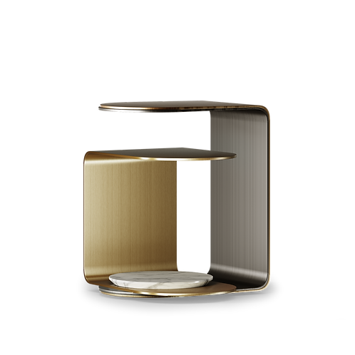 Side Table Power - Superbly detailed and hand crafted with the finest materials