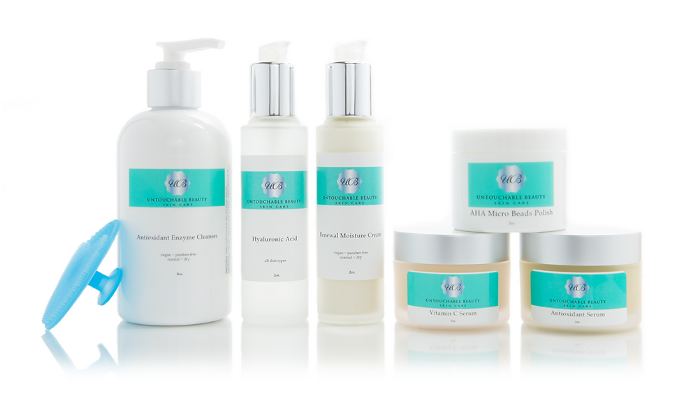 Untouchable Beauty - Natural Skin Care Products
