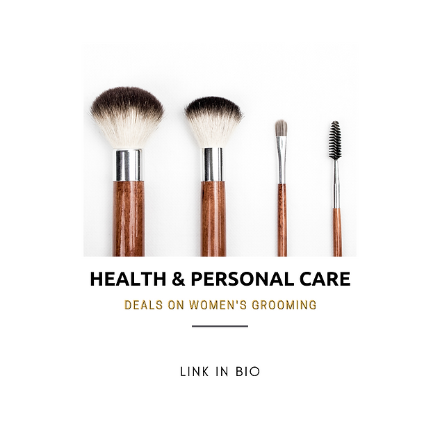 Health & Personal Care: Deals on women's grooming