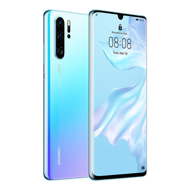 Huawei P30 Pro Dual SIM - 256GB, 8GB RAM, 4G LTE (Breathing Crystal)  ₹ 54,638.00