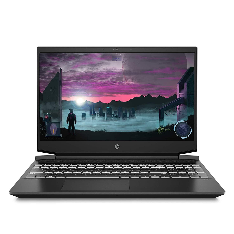 HP Pavilion Gaming Laptop, Ryzen 5-4600H, 15.6-inch 144 Hz FHD Screen, 8 GB RAM, 4 GB NVIDIA 1650ti