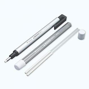 Tombow 57316 MONO Zero Eraser Value Pack, Round 2.3 mm. Precision Tip Eraser with Refills