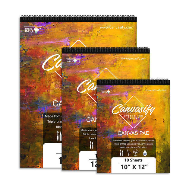 """Canvasify Canvas Pads (12"""" x 16"""")"""