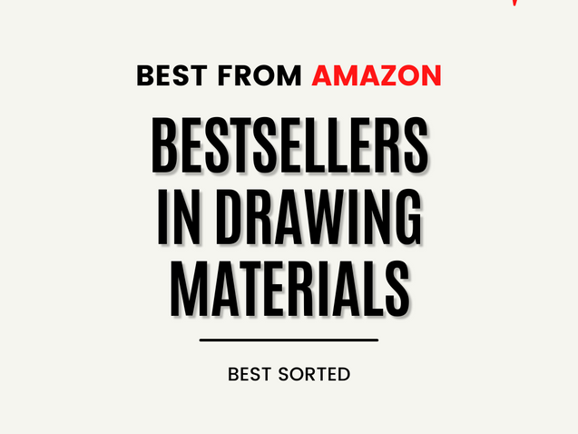 BESTSELLERS IN DRAWING MATERIALS