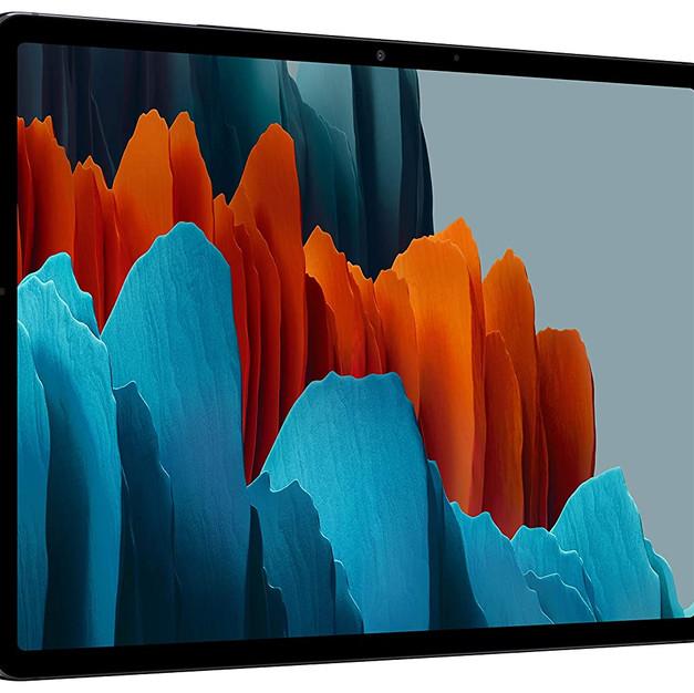 Samsung Galaxy Tab S7 (11 inch, Wi-Fi + LTE, 6 GB RAM, 128 GB Internal) - Mystic Black     Price:₹ 63,999.00
