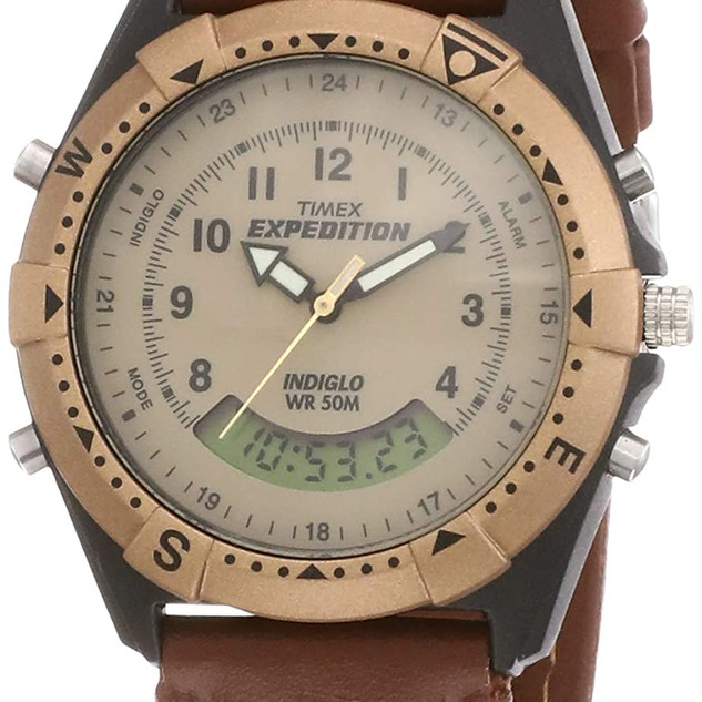 Timex Expedition Analog-Digital Beige Dial (Small dial) Men's Watch - MF13  ₹ 3,110