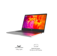 Mi Notebook 14 Intel Core i5-10210U 10th Gen Thin and Light Laptop(8GB/256GB SSD/Windows 10/Intel UHD Graphics/Silver/1.5Kg) ₹ 43,999.00