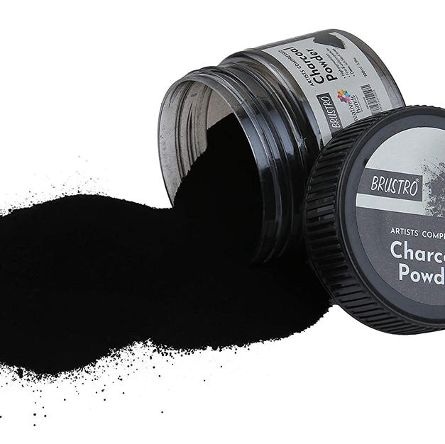 Brustro Artists' Compressed Charcoal Powder 100 ml.