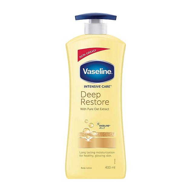 Vaseline Intensive Care Deep Restore Body Lotion, 400 ml ₹ 170.00