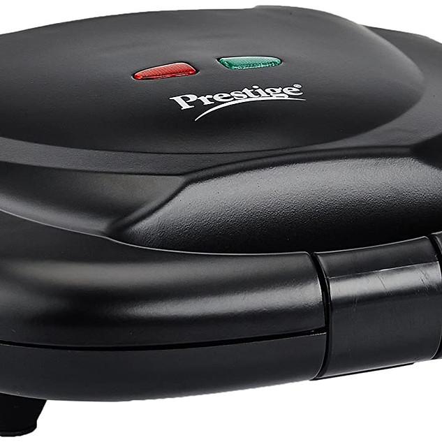 Prestige PSMFB 800 Watt Sandwich Toaster with Fixed Plates, Black ₹ 1,099.00