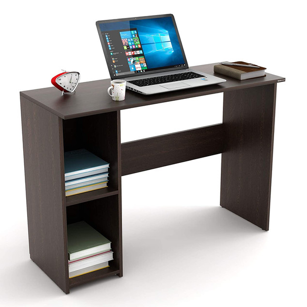 BLUEWUD Mallium Engineered Wood Study Table, Laptop, Computer Table Desk for Home & Office (Wenge) Standard ₹ 3,289.00