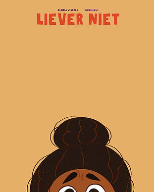 Book cover with an illustration of a brown girl.