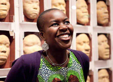 Introducing the first keynote speaker at our kick off conference: Temi Odumosu!