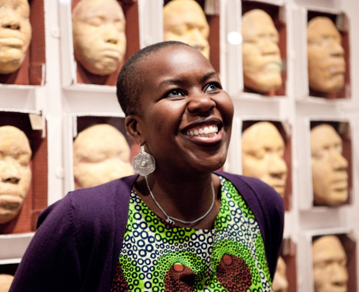 Portrait photo of Temi Odumodu.