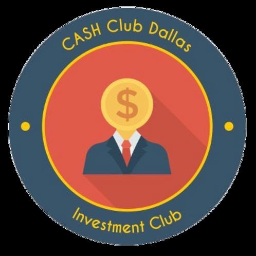 CASH Club Laptop Sticker