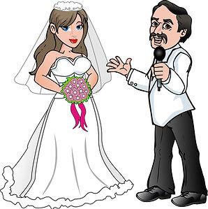 wedding singing waiter