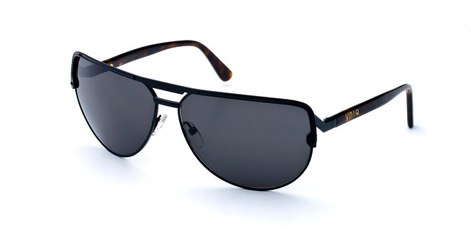 AVIATOR- BLACK, SMOKE LENS (1013)