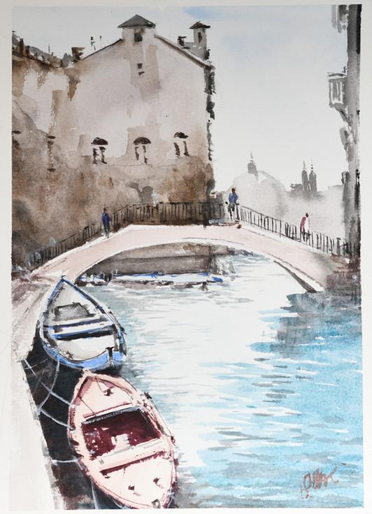 A Bridge thru Venice