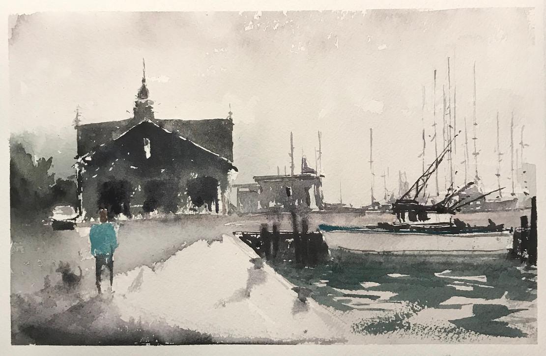Shipping Dock - Gloucester MA