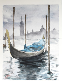 Stormy Grand Canal - Venice