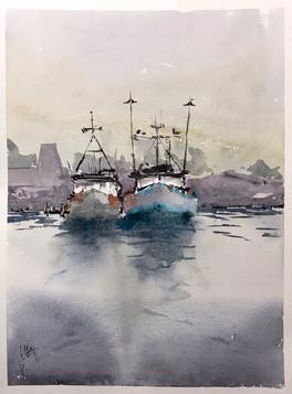 Gone Fishin' - Port Judith MA